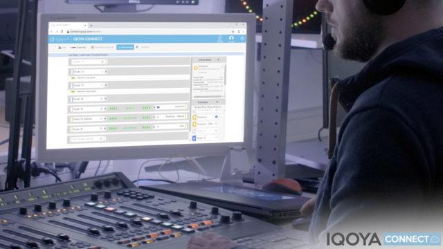 Relier techniciens et journalistes… le pari de Digigram avec l'interface IQOYA CONNECT © DR