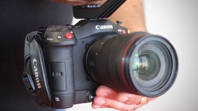 L'EOS C70, la petite dernière de la gamme EOS cinéma est arrivée ! © Nathalie Klimberg