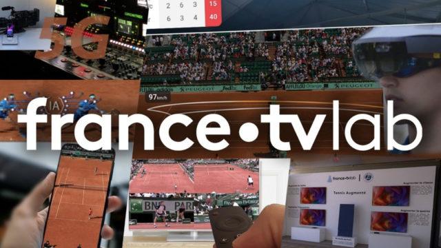 Le « tennis augmenté » proposé par France Télévisions et la FFT aux spectateurs de Roland-Garros © DR