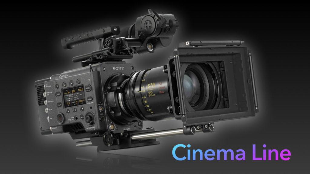 Sony Cinema Line : une gamme étendue caméras pour les créateurs de contenus cinéma © DR