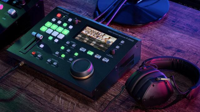 Un nouveau replayer vidéo instantatné P-20HD chez Roland © DR